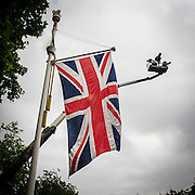 La bandiera inglese Union Jack<br /> <br /> The british flag Union Jack