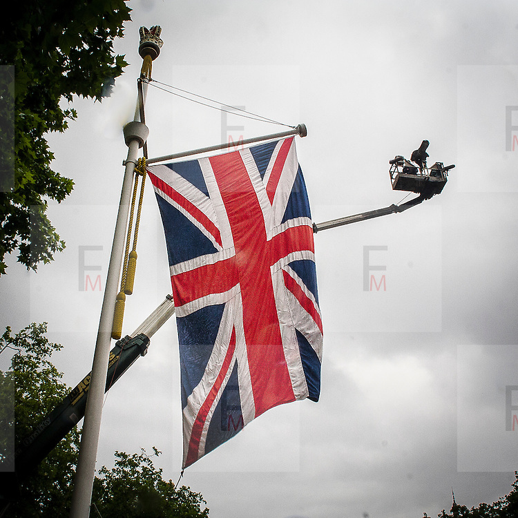 La bandiera inglese Union Jack<br /> <br /> The british flag Union Jack