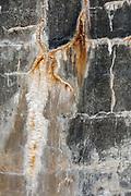 Abstract design, WWll bunker, January, Fort Flagler State Park, Jefferson County, Olympic Peninsula, Washington, USA