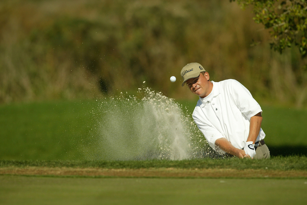Tjaart Van der Walt..2003 PGA Tour Qualifying, Final Stage.Fifth Round.Orange County National GC.Orlando, FL.Sunday, December 7  2003..Photograph by Darren Carroll..