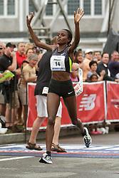 Falmouth Road Race women's champion Margaret Wangaru