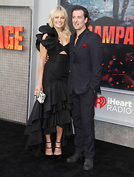 Rampage Premiere at The Microsoft Theatre in Los Angeles, California on 4/4/18. 04 Apr 2018 Pictured: Malin Akerman, Jack Donnelly. Photo credit: River / MEGA TheMegaAgency.com +1 888 505 6342