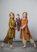 Bay Pointe Ballet students pose for their Nutcracker 2017 portraits during Photo Day at Bay Pointe Ballet in South San Francisco, California, on November 18, 2017. (Stan Olszewski/SOSKIphoto)