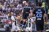 Leonardo Bonucci Juventus Ciro Immobile Lazio <br /> Torino 25-08-2018 Allianz Stadium Football Calcio Serie A 2018/2019 Juventus - Lazio Foto OnePlusNine / Insidefoto
