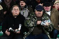 Supporters Laval   - 30.01.2015 - Laval / Troyes  - 22eme journee de Ligue 2<br /> Photo : Vincent Michel / Icon Sport