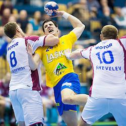 20140215: SLO, Handball - EHF Champions League, RK Celje Pivovarna Lasko vs HC Motor Zaporozhye
