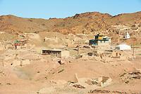 Mongolie, province de Dundgov, desert de Gobi, monastere Ongii Khiid // Mongolia, Dundgov province, Gobi desert, Ongii Khiid monastery