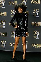 March 30, 2019 - Los Angeles, CA, USA - Hollywood, CA - MAR 30:  Yara Shahidi at the 50th NAACP Image Awards Press Room at the Dolby Theatre on March 30 2019 in Hollywood CA. Credit: CraSH/imageSPACE (Credit Image: © Crash via ZUMA Wire)