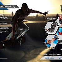 High Energy Model, Showcasing Potential Abilities After Being Fitted with Orthofix's Products