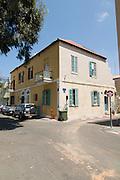 Israel, Tel Aviv, Neve Tzedek, Agnon House residence of Nobel prize laureate writer Shmuel Yosef Agnon at 2 Rokah street