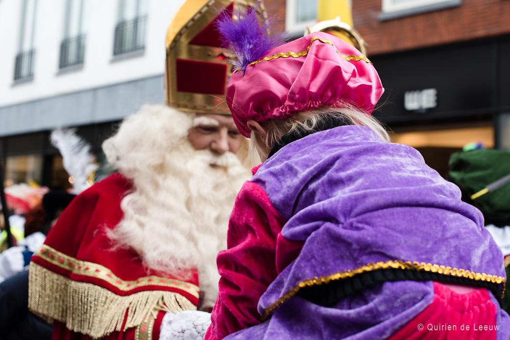 Intocht van Sinterklaas in Gouda.