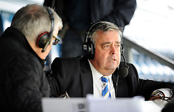 Bristol Rovers Chairman Nick Higgs is interviewed on bbc radio Bristol. - Photo mandatory by-line: Alex James/JMP - Mobile: 07966 386802 - 03/05/2015 - SPORT - Football - Bristol - Memorial Stadium - Bristol Rovers v Forest Green Rovers - Vanarama Football Conference