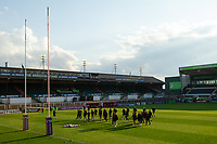 Rugby Union - 2020 / 2021 European Rugby Challenge Cup - Semi-final - Leicester vs Ulster - Welford Road<br /> <br /> Ulster Rugby players arrive at the ground.<br /> <br /> COLORSPORT/ASHLEY WESTERN