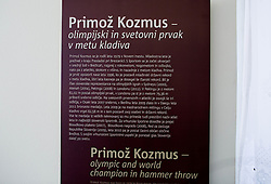 Museum of Primoz Kozmus, Olympic and World Champion in Hammer Throw when ending his sports career, on October 23, 2015 in Grad Brezice, Slovenia. Photo by Vid Ponikvar / Sportida
