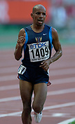 Mebrahton Keflizighi of the United States in the 10,000 meters in the IAAF World Championships in Athletics at Stade de France on Sunday, Aug, 24, 2003.