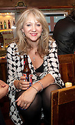 SONIA FRIEDMAN, Opening in the West end of the Royal Court's Jerusalem after a run on Broadway..<br /> WAXY O CONNORS, 14-16 RUPERT STREET, LONDON . 17 October 2011.  <br /> <br />  , -DO NOT ARCHIVE-© Copyright Photograph by Dafydd Jones. 248 Clapham Rd. London SW9 0PZ. Tel 0207 820 0771. www.dafjones.com.