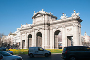 The Puerta de Alcala, Madrid, Spain
