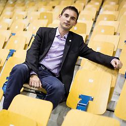 20141018: SLO, Handball - Portrait of Gregor Planteu, sports director of RK Celje Pivovarna Lasko