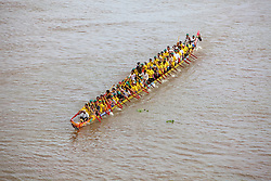 Dugout Canoe at Cambodia's Water Festival