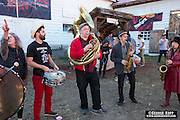 The Hungry March Band at Tom Waits Party 2016.