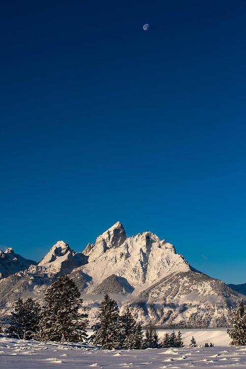 Grand Teton Mountain Range, Jackson Hole, Wyoming