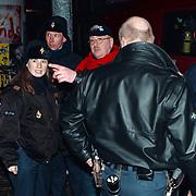 Keizersracen, schaatsen op de Keizersgracht Amsterdam, arrestatie Hans Hofman