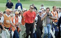 Dutch Open Golf. Stephen Leaney (Australie), winnaaar in 2000 op Noordwijk.