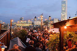 Atmosphere at the Warner Music Group Summer Party in association with British GQ held at Shoreditch House, Ebor Street, London E2 on 8th July 2015.