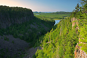 Ouimet Canyon looking towards Lake Superior<br />Ouimet Canyon Provincial Park<br />Ontario<br />Canada