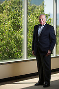 Donald J. Massaro, president and Chief Executive Officer of Rainmaker Systems, Inc., poses for a portrait at the Rainmaker Systems, Inc. campus in Campbell, California, on April 25, 2013. (Stan Olszewski/SOSKIphoto)