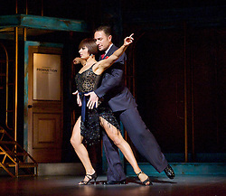 Dance 'Til Dawn <br /> Vincent Simone & Flavia Cacace <br /> at the Aldwych Theatre, London, Great Britain <br /> press photocall<br /> 29th October 2014 <br /> <br /> <br /> Vincent Simone & Flavia Cacace <br /> <br /> <br /> <br /> Photograph by Elliott Franks <br /> Image licensed to Elliott Franks Photography Services