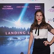 London, England, UK. 14th September 2017.Cast Victoire Vecchierini attend the Landing Lake Film Premiere at Empire Haymarket,London, UK.