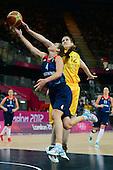 Basketball, Womens - Australia vs Great Britain (Preliminary Round Group B)