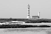 Lighthouse near El Cotillo, Fuerteventura, Spain.
