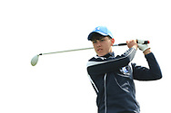 Matthew O'Brien (Blackrock College) on the 8th tee during the final of the Irish Schools Senior Championship at Portstewart Golf Club, Portstewart, Co Antrim on Tuesday 23rd April 2019.<br /> <br /> Picture:  Thos Caffrey / www.golffile.ie<br /> <br /> All photos usage must carry mandatory copyright credit       (© Golffile   Thos Caffrey)