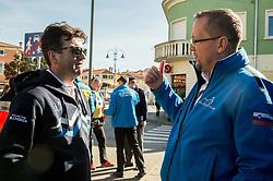 Ales Kalan and Martin Hvastija during the UCI Class 1.2 professional race 4th Grand Prix Izola, on February 26, 2017 in Izola / Isola, Slovenia. Photo by Vid Ponikvar / Sportida