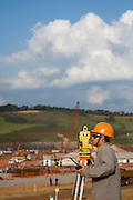 Jeceaba_MG, Brasil...Construcao de uma usina siderurgica em Jeceaba...The construction of the steel industry in Jeceaba. ..Foto: BRUNO MAGALHAES / NITRO