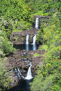 Umauma Falls Big Island Hawaii