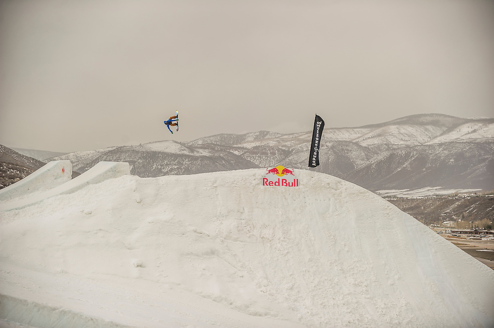 Gabe Ferguson performs at the RedBull Performance Camp in Aspen Colorado, United States on April 14th, 2013
