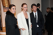 MARIA GRAZIA CHIURI; STELLA MCCARTNEY; PIER PAOLO PICCIOLI;, Valentino: Master of Couture - private view. Somerset House, London. 28 November 2012
