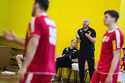 AUT head coach Ales Pajovic during friendly match between Slovenia and Austria in Cerklje na Gorenjskem, Slovenia on 8th of June, 2019 .Photo by Peter Podobnik / Sportida