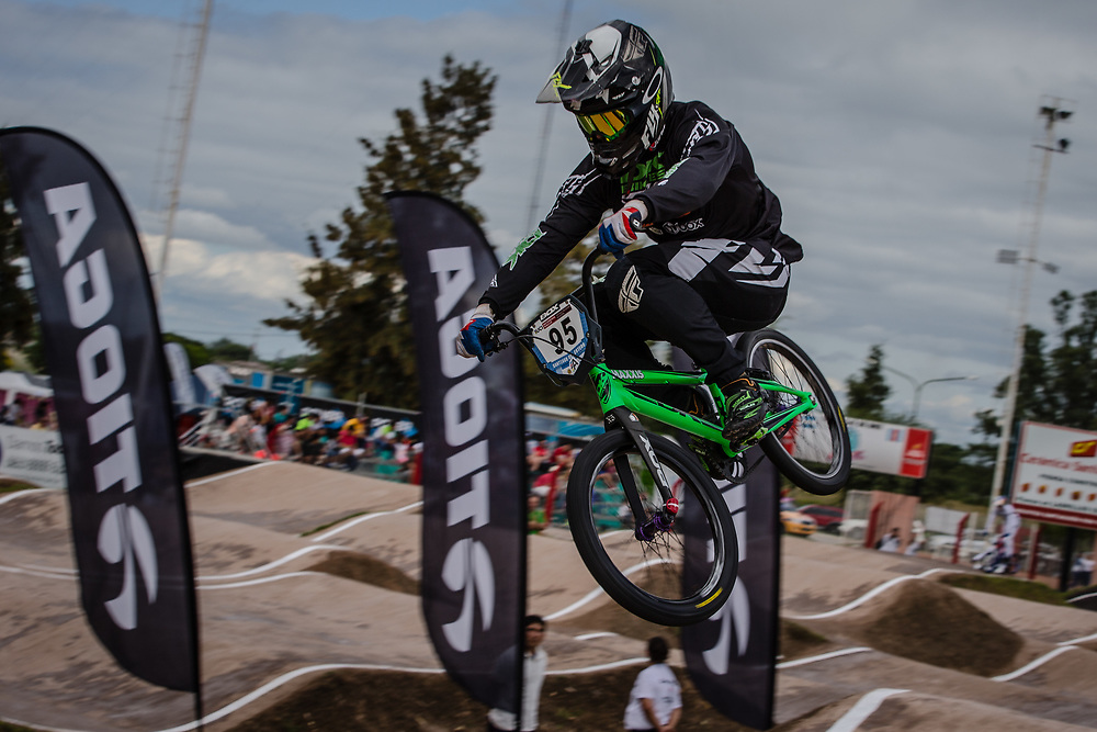 #95 (NOBLES Barry) USA at the 2016 UCI BMX Supercross World Cup in Santiago del Estero, Argentina
