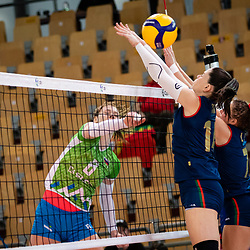 20210612: SLO, Volleyball - Women Silver league, 3rd place match, Slovenia vs Portugal
