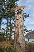 Ko-Kwal-alwoot, or Maiden of Deception Pass. Deception Pass State Park Washington