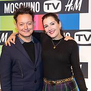 NLD/Amsterdam/20181105 - Lancering De Moschino TV x H&M-collectie, Rop Verheijen en Tina de Bruin