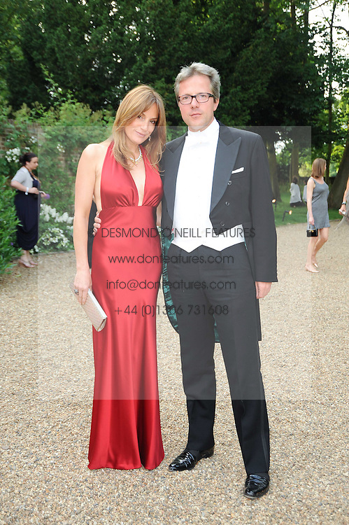 WILLIAM & EMILY TURNER at the Raisa Gorbachev Foundation Party held at Stud House, Hampton Court Palace on 5th June 2010.  The night is in aid of the Raisa Gorbachev Foundation, an international fund fighting child cancer.