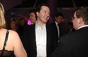 George  Osborne. The Black and White Winter Ball. Old Billingsgate. London. 8 February 2006. -DO NOT ARCHIVE-© Copyright Photograph by Dafydd Jones 66 Stockwell Park Rd. London SW9 0DA Tel 020 7733 0108 www.dafjones.com