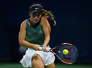 Gabriella Taylor of Great Britain in action during the first qualifications round at the 2018 US Open Grand Slam tennis tournament, New York, USA, August 22th 2018, Photo Rob Prange / SpainProSportsImages / DPPI / ProSportsImages / DPPI