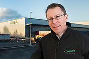 Martin McVicar CombiLift with new building
