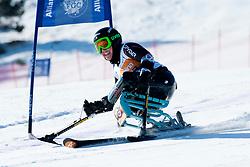 VICTOR Stephani, USA, Giant Slalom, 2013 IPC Alpine Skiing World Championships, La Molina, Spain
